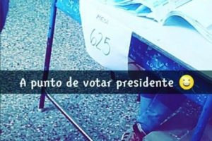Las redes sociales fueron la mejor opción. Foto:Vía instagram.com/explore/tags/elecciones2015/