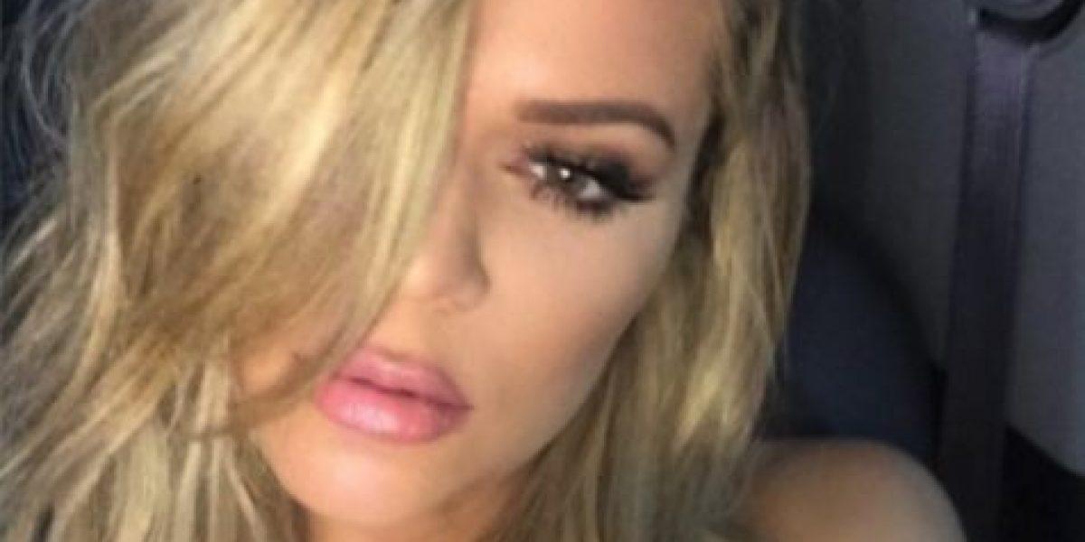 Khloé Kardashian se despidió de su larga cabellera