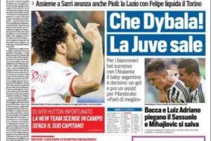 """Corriere dello Sport (Italia): """"Rossi, tormenta mundial. En Valencia saldrá último «No sé si me voy»"""". Foto:www.corrieredellosport.it"""