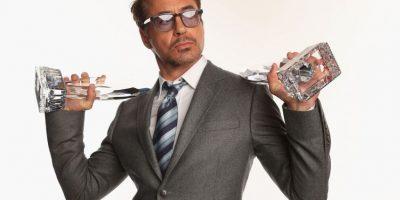 """""""Aquí el señor """"Stark"""". Esto es por Daniel, quien ha tenido días malos recientemente"""". Foto:Getty Images"""