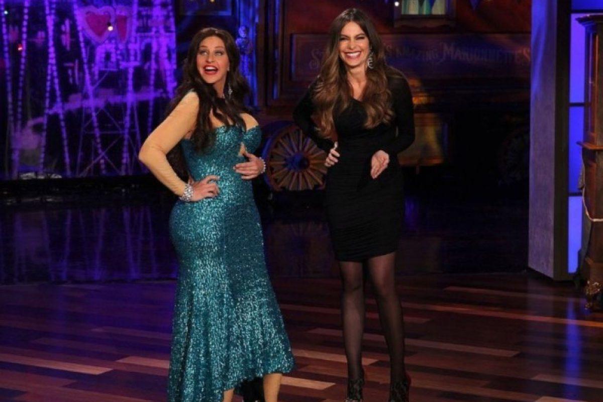 """Y luego sorprendió con este disfraz de Sofía Vergara en su talkshow """"Ellen DeGeneres"""". Foto:vía instagram.com/ellendegeneres"""