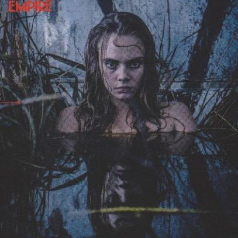 """En """"Suicide Squad"""", Cara Delevinge interpreta a una oscura mujer que logra manipular la energía. Foto:""""Empire Magazine"""""""