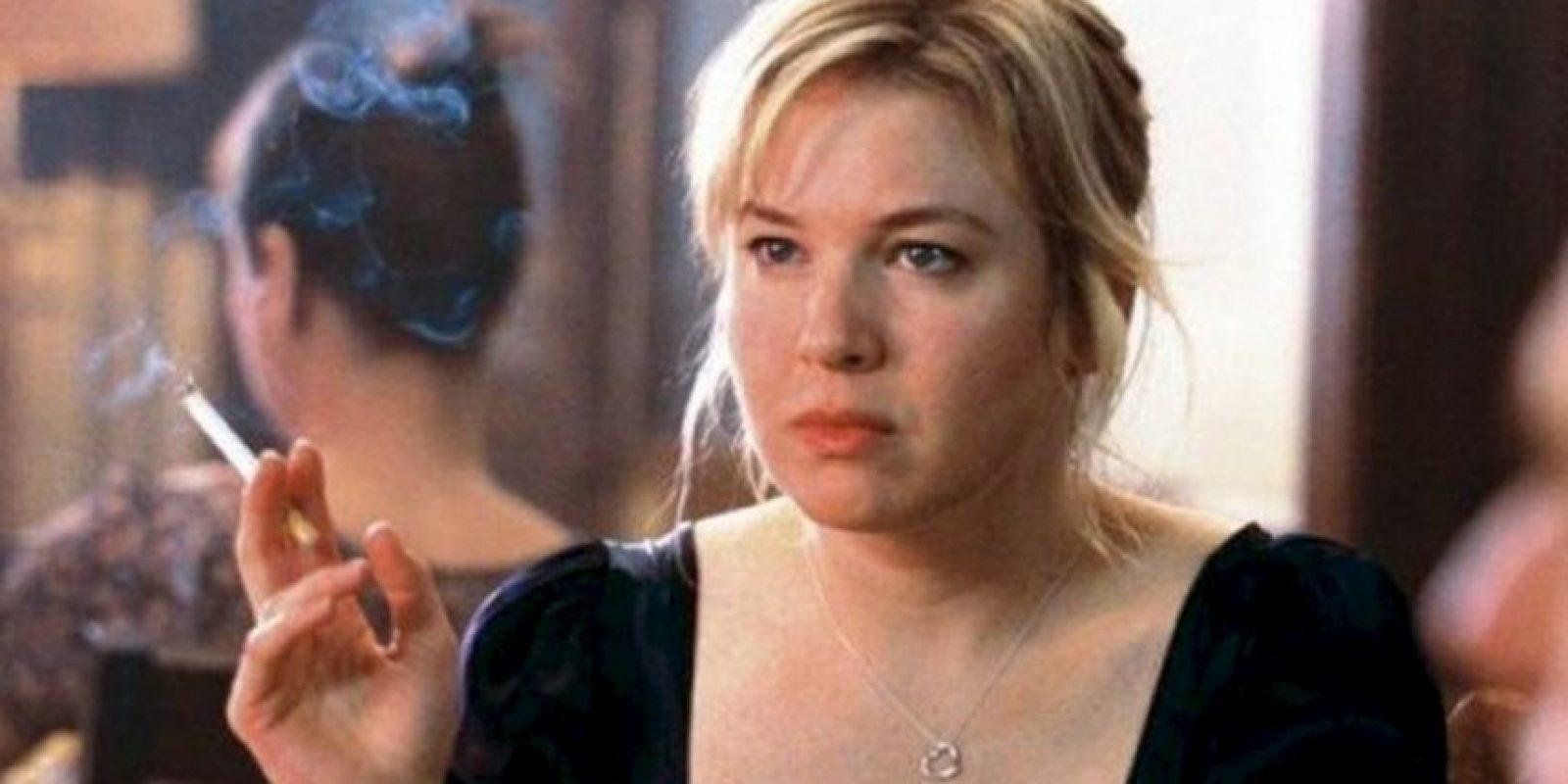 """En 2001, la actriz Renée Zellweger protagonizó la primer película de """"El Diario de Bridget Jones"""". Foto:IMDB"""