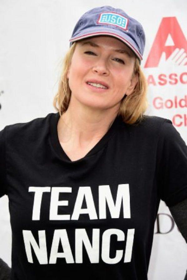 La actriz estadounidense Renée Zellweger. Foto:Getty Images