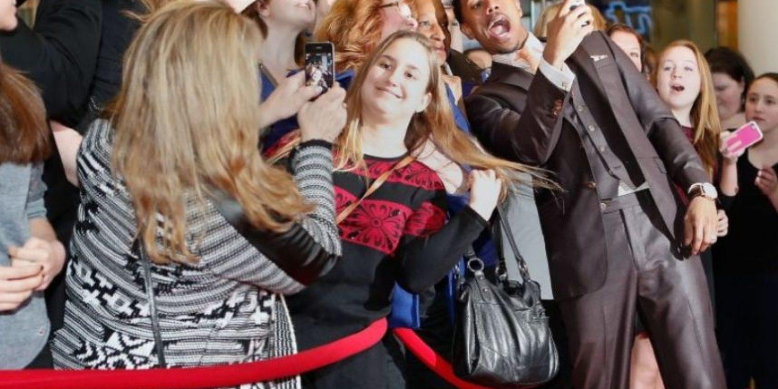 Nick Cannon durante un evento en Nueva York. Foto:Getty Images