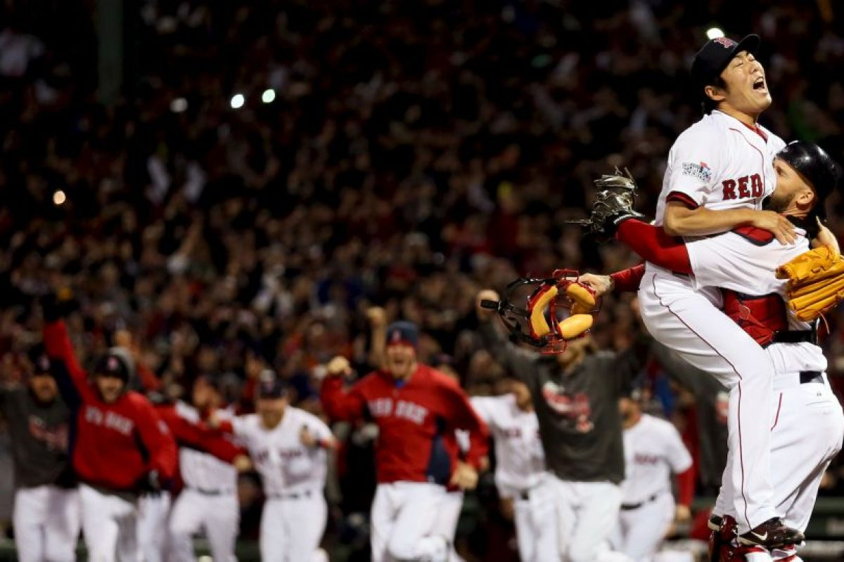 2013 – Red Sox de Boston / Vencieron a los Cardenales de San Luis en seis juegos. Foto: Getty Images