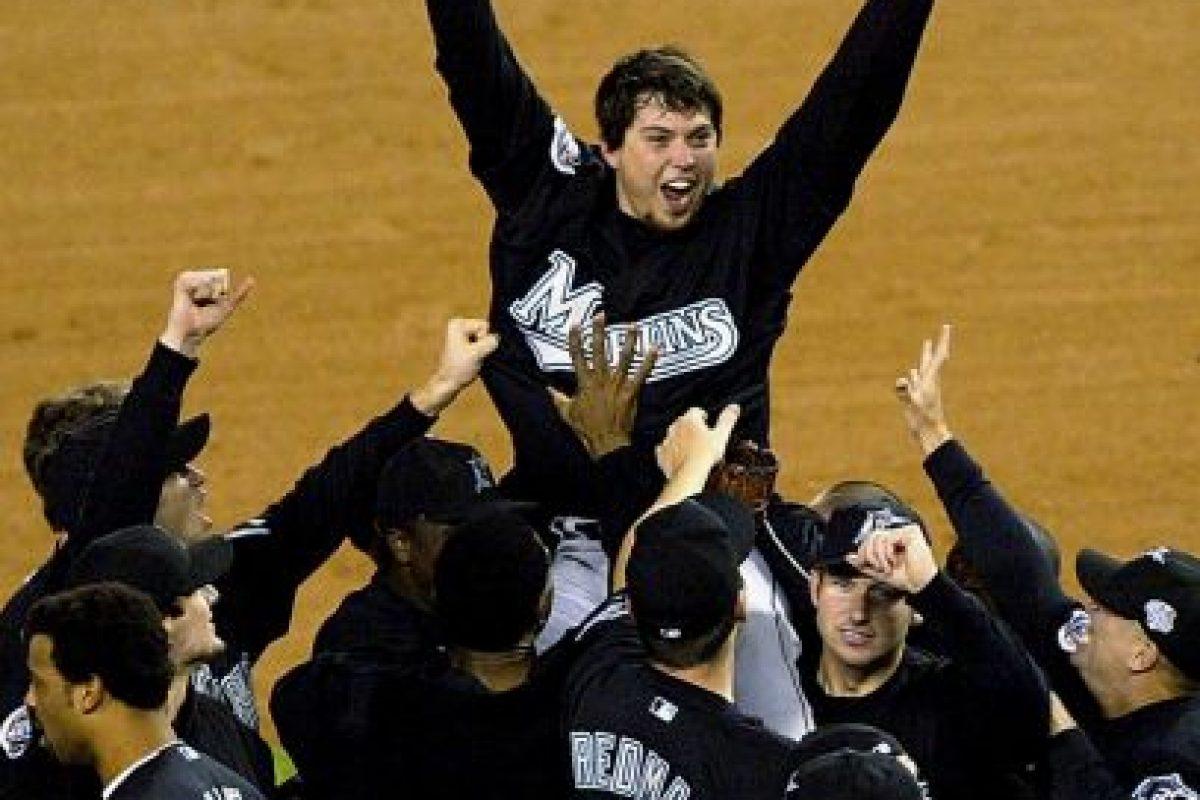 2003 – Marlins de Florida / Vencieron a los Yankees de Nueva York en seis juegos. Foto:Getty Images