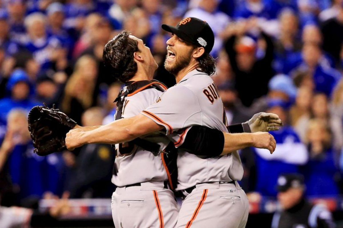 2014 – Gigantes de San Francisco / Vencieron a los Royals de Kansas City en siete juegos. Foto: Getty Images