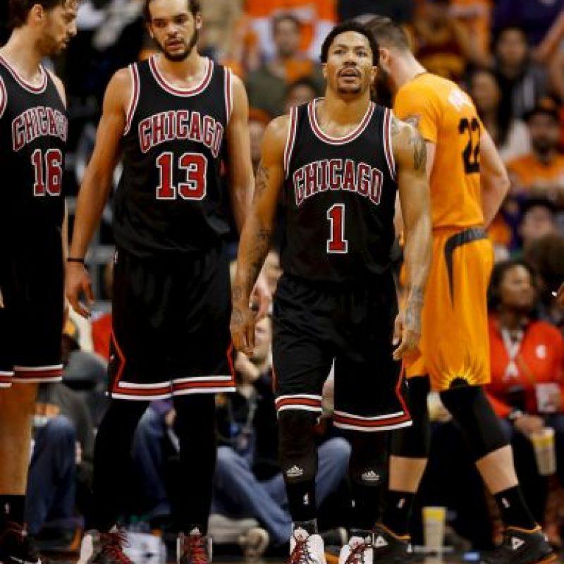 Rose espera llegar sano al inicio de temporada y no lesionarse durante el torneo para guiar a los Bulls a un título que no ganan desde la salida de Michael Jordan Foto:Getty Images