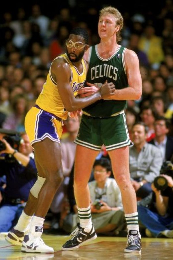 """""""No quiero que los rivales pongan blancos a defenderme. Eso es una falta de respeto a mi juego"""", Larry Bird. Foto:Getty Images"""