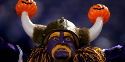 """El """"Vikingo"""" más terrorífico de la NFL. Foto:Getty Images"""
