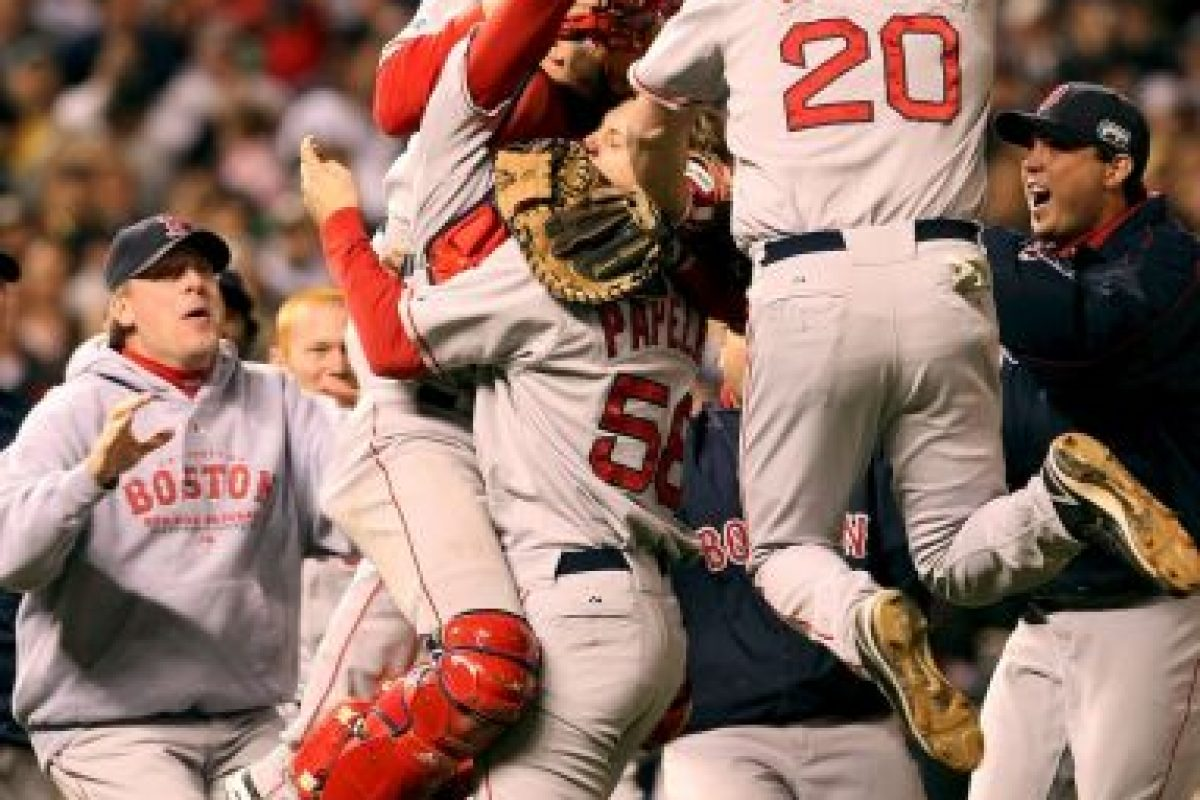 2007 – Red Sox de Boston / Vencieron a los Rockies de Colorado en cuatro juegos. Foto: Getty Images