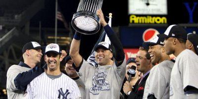 2009 – New York Yankees / Vencieron a los Phillies de Philadelphia en seis juegos. Foto:Getty Images