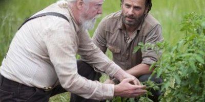 El granjero y médico veterinario, padre de Maggie y Beth, se distinguió por su sabiduría y tener gran interés en conservar la moral y ética en el grupo Foto:AMC