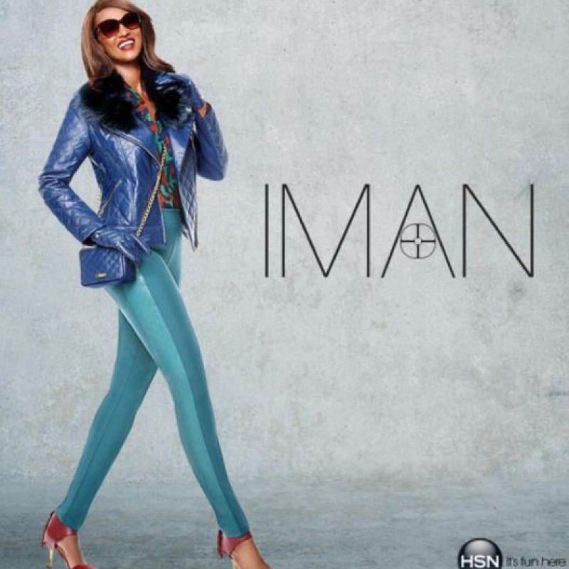 Iman, exmodelo somalí, es esposa de David Bowie y también empresaria. Foto:vía Facebook/Iman