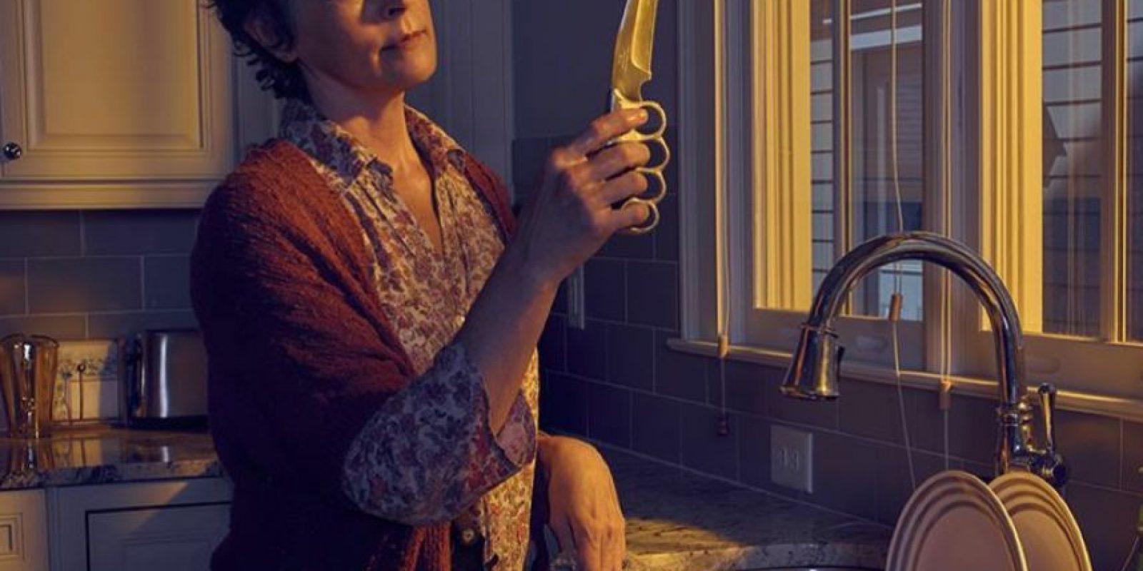 """En una escena de """"The Walking Dead"""" muestran claramente la metanfetamina azul de """"Breaking Bad"""". Foto:Vía Facebook.com/TheWalkingDeadAMC"""