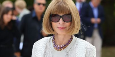 Anna Wintour. Foto: vía Getty Images