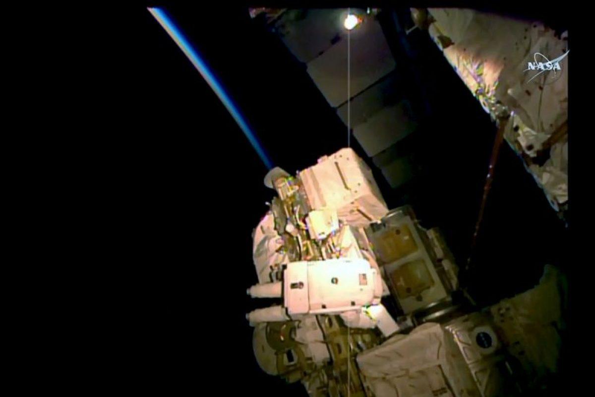 Fue diseñado para detectar varias clases de materia exótica mediante la medición de rayos cósmicos Foto:AFP