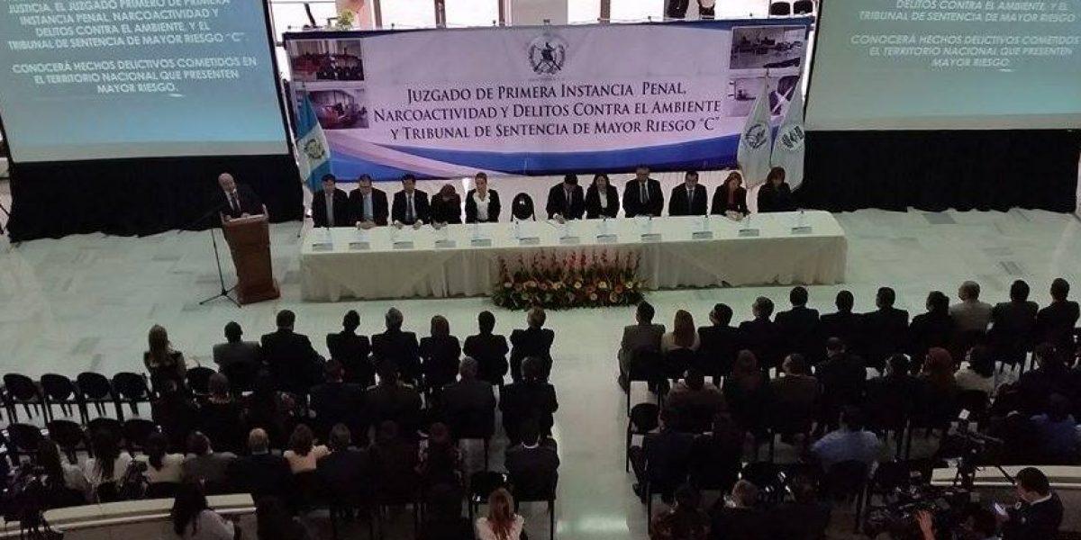 CSJ crea nuevo Juzgado y Tribunal de Mayor Riesgo