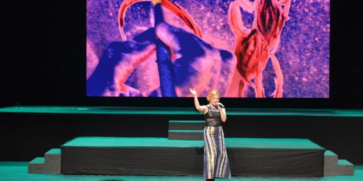 Magda Angélica pone en alto a Guatemala en el Festival Internacional de la Canción de Paraguay