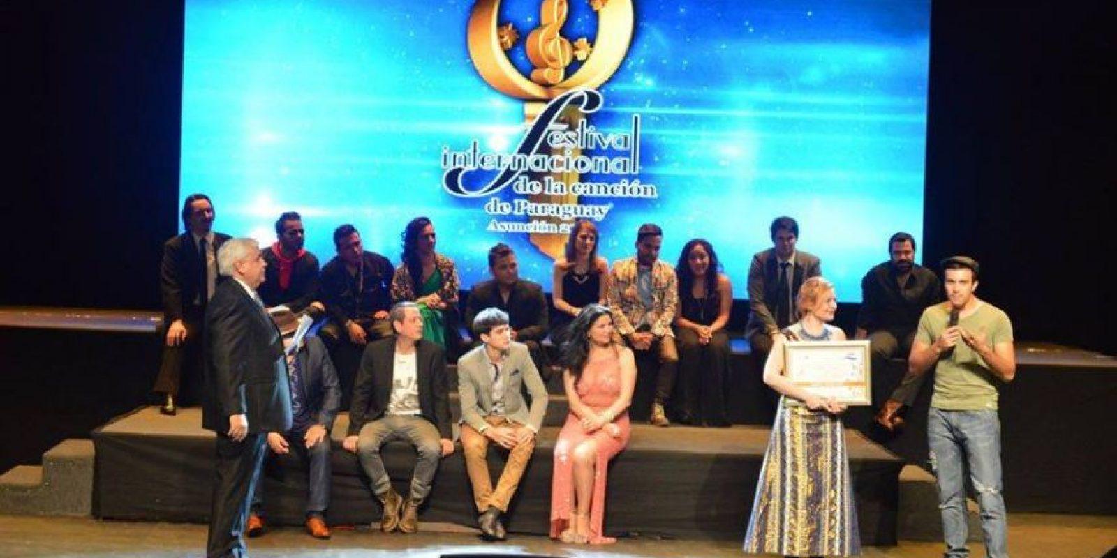 Foto:Festival Internacional de la Canción de Paraguay