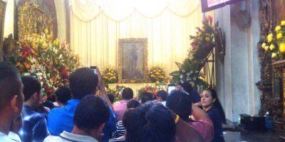 Feligreses llegan a la Merced por San Judas Tadeo