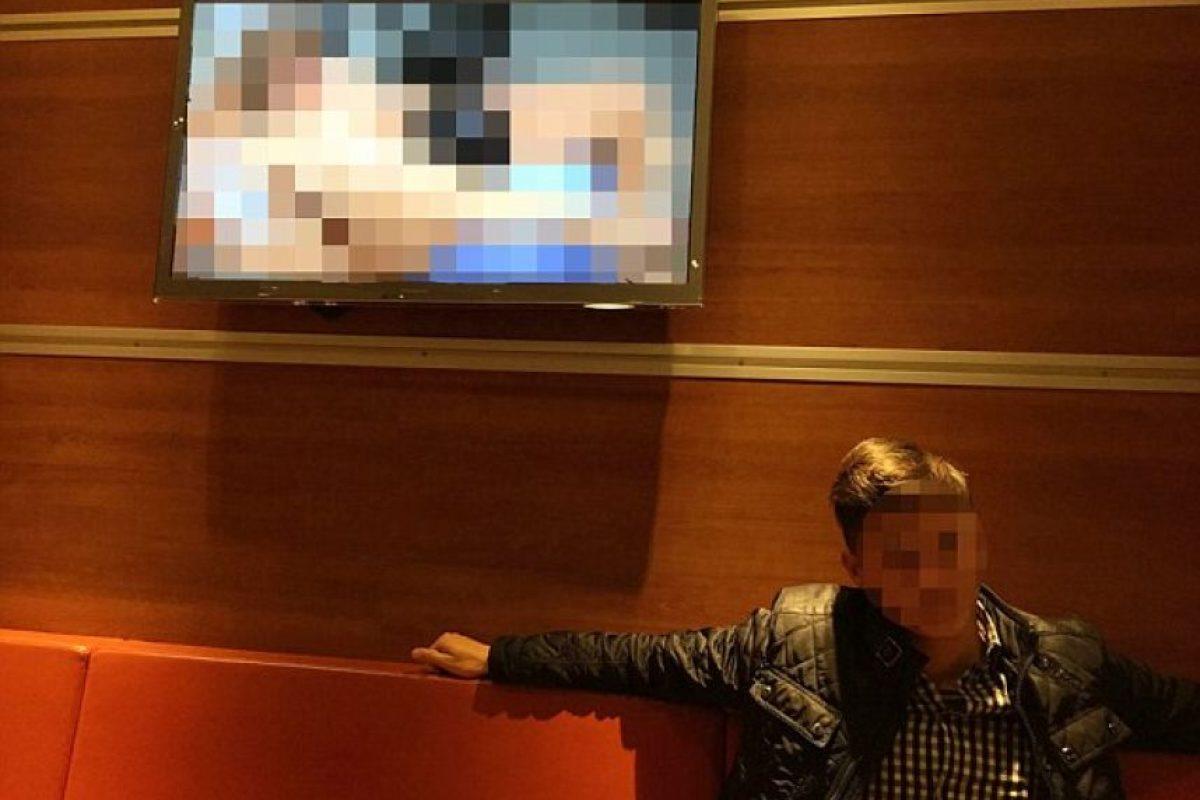 En diciembre de 2014, una película porno fue proyectada en un restaurante de Suecia Foto:20min.ch
