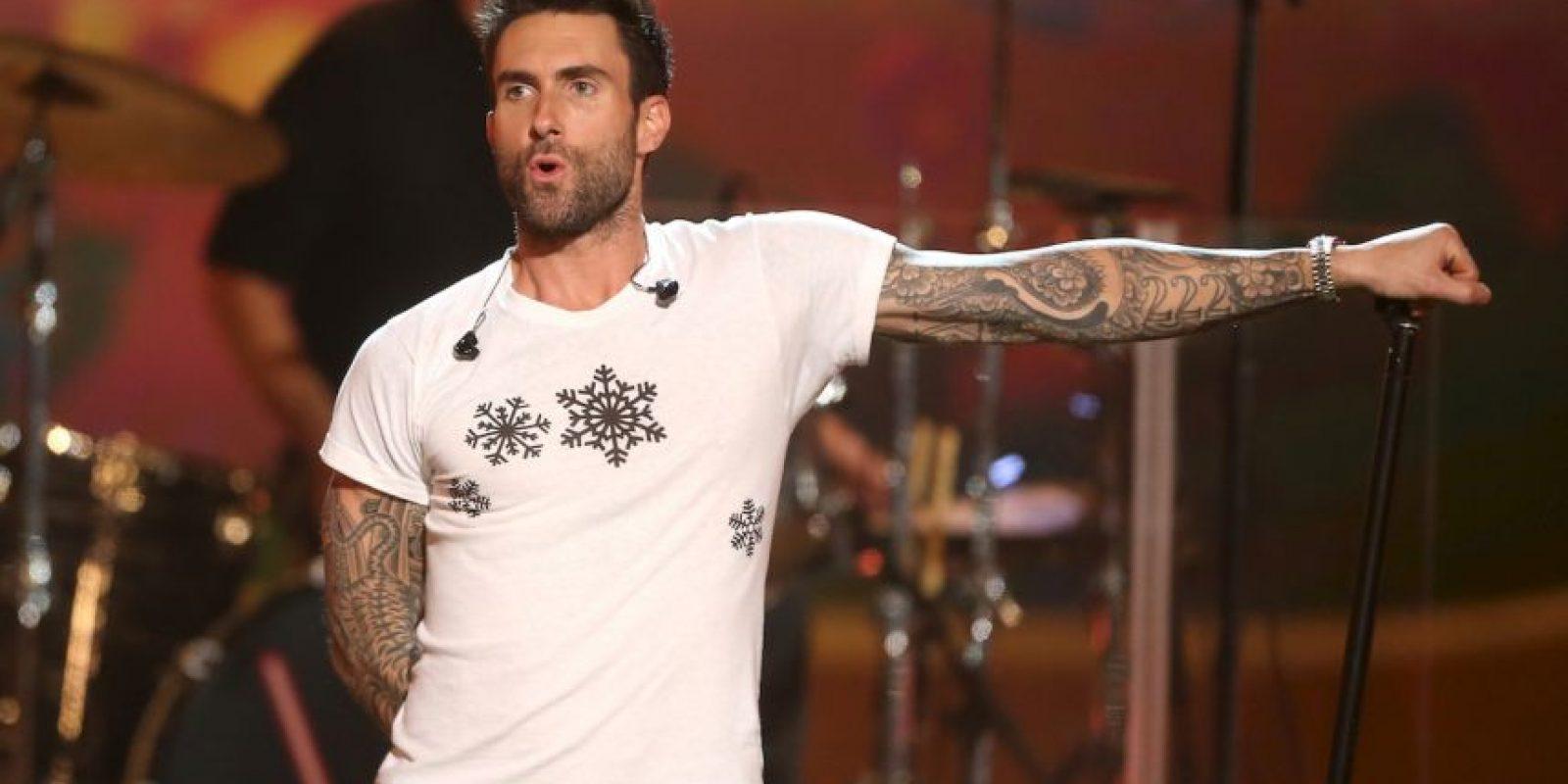 """6. Tiene un tatuaje llamado """"Frankie Girl"""" en honor a su perro. Foto:Getty Images"""