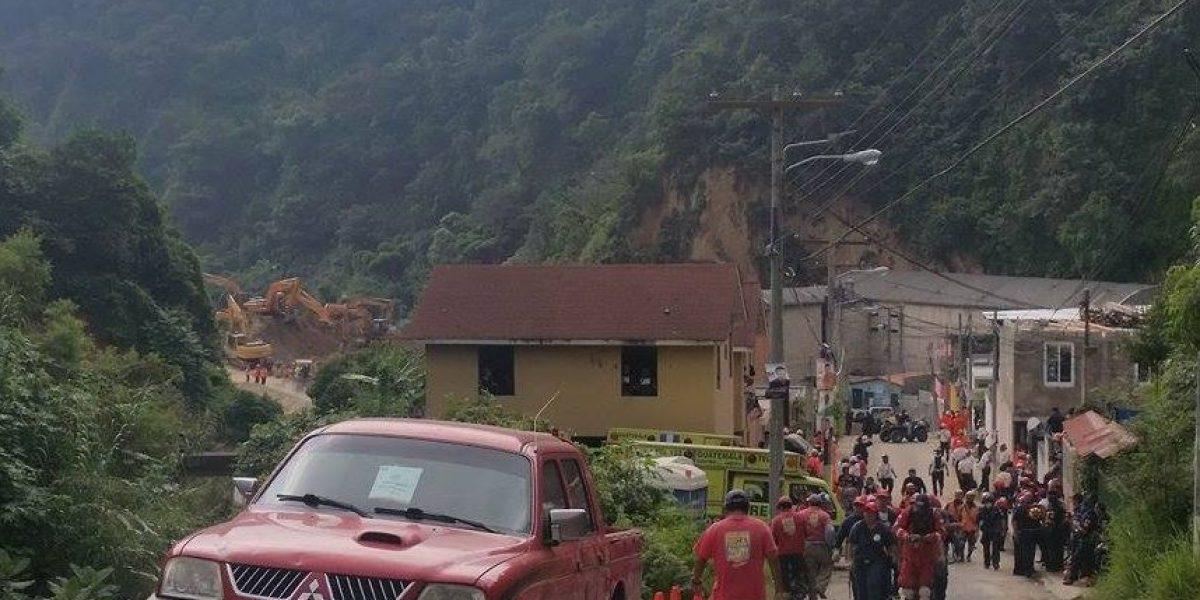 Diputados ratifican estado de Calamidad para la aldea El Cambray II y conceden Q20 millones