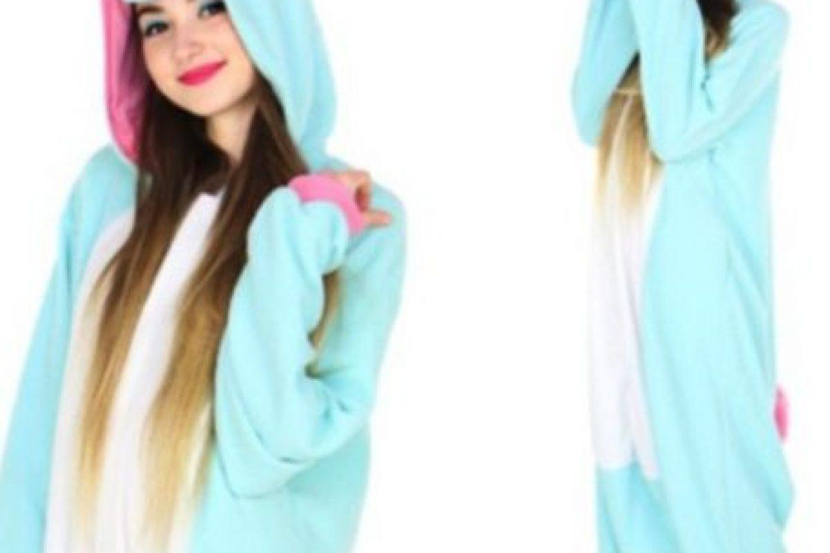 Este unicornio azul tiene un costo de 65 dólares en la tienda Kigu. Foto:.kigu.co.uk