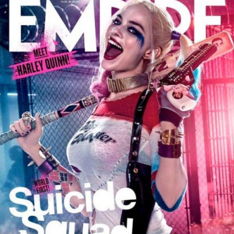"""Harley Quinn"" es interpretada por Margot Robbie Foto:""Empire Magazine"""