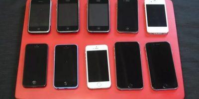 ¿Qué le pasará a todas las versiones del iPhone cuando las hunden en agua? Foto:Zach Straley / YouTube