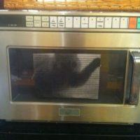 Foto de gato en el microondas. Foto:vía Prankked
