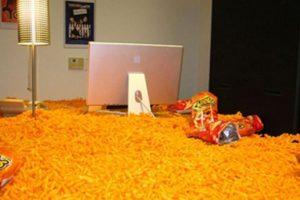 Los cheetos. Foto:vía Prankked
