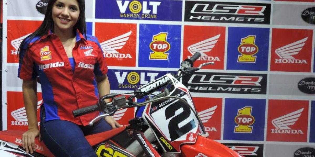 Bella motocrosista competirá con el Team Honda Guatemala por el título Latinoamericano en Perú