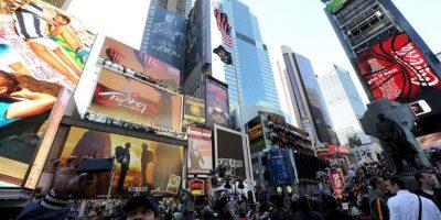 3. Una pantalla para publicidad en la calle Foto:Getty Images