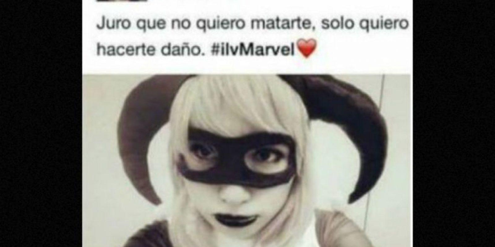 Y confunden a DC con Marvel… Foto:vía Twitter