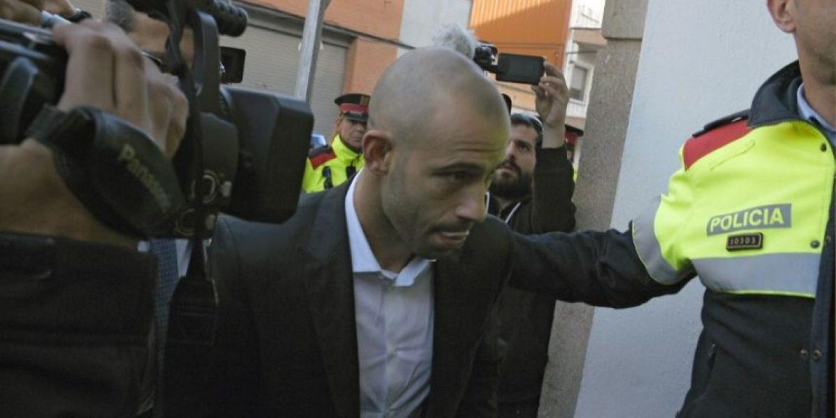 Mascherano se declara culpable de dos delitos de fraude fiscal