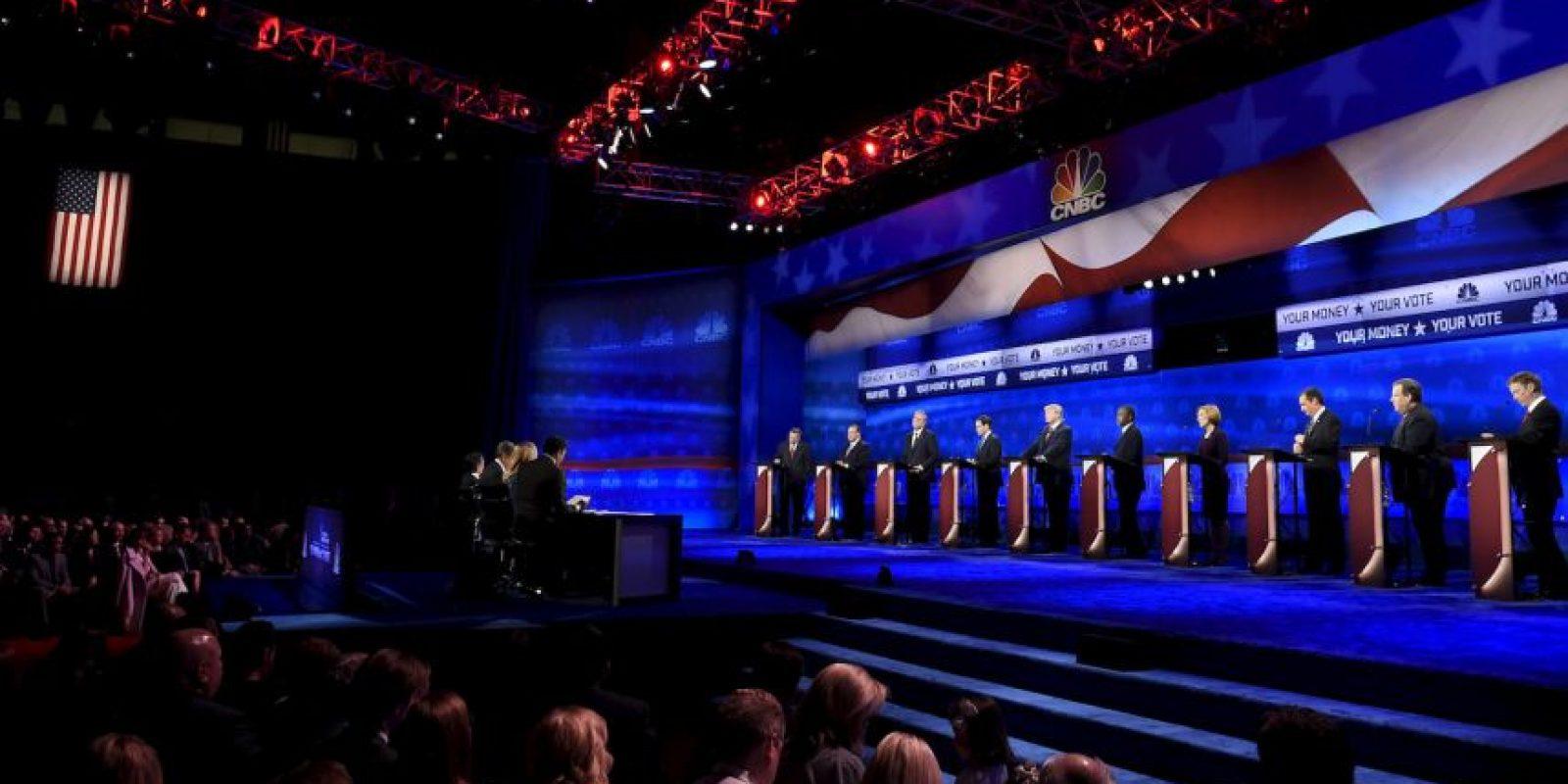 El miércoles 28 de octubre se llevó acabo el segundo debate de precandidatos del Partido Republicano Foto:AFP