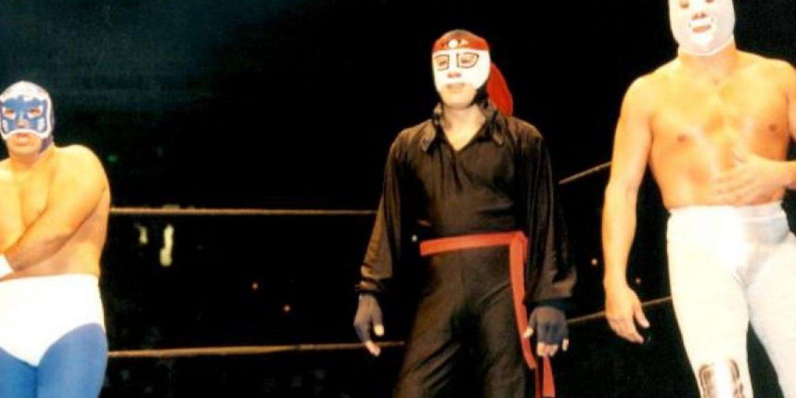 Blue Panther, Octagon y El Hijo del Santo Foto:WWE