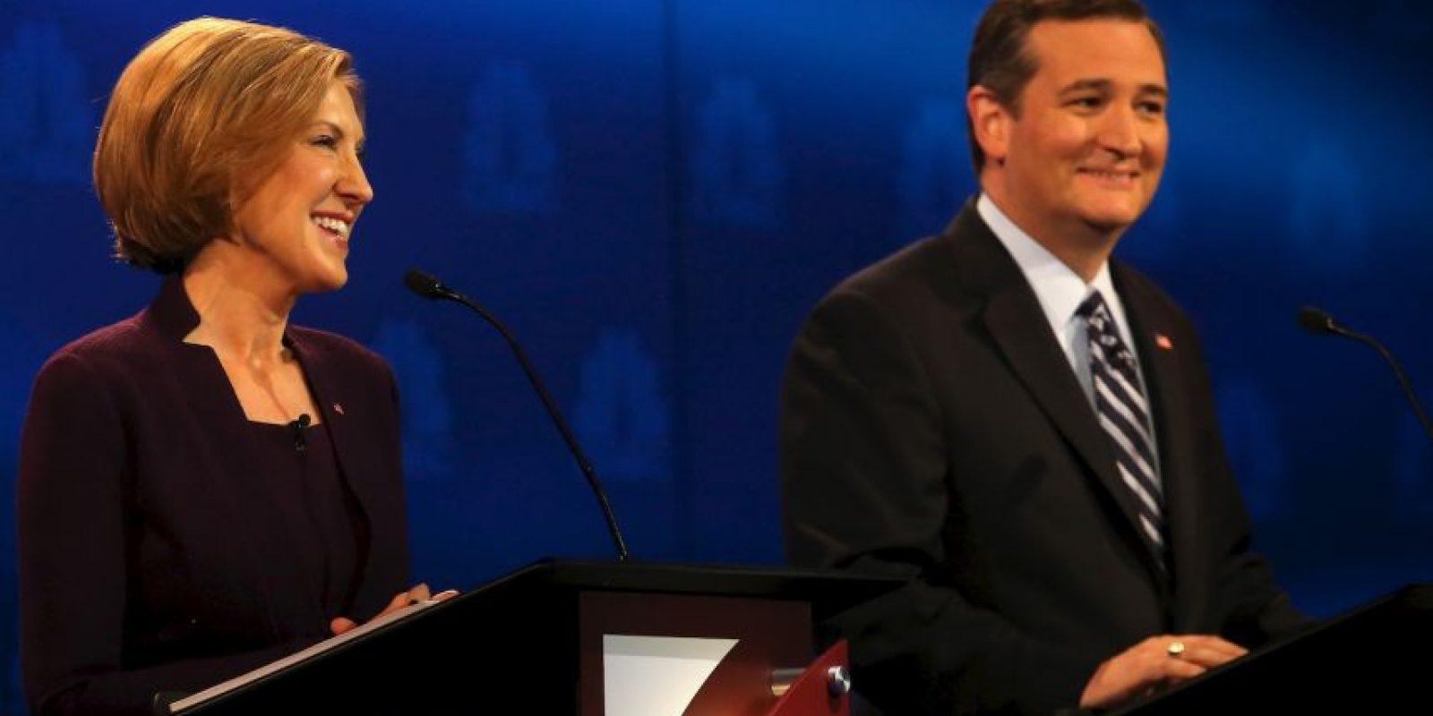 También Ted Cruz, quien ya está posicionado como favorito entre los conservadores Foto:AFP