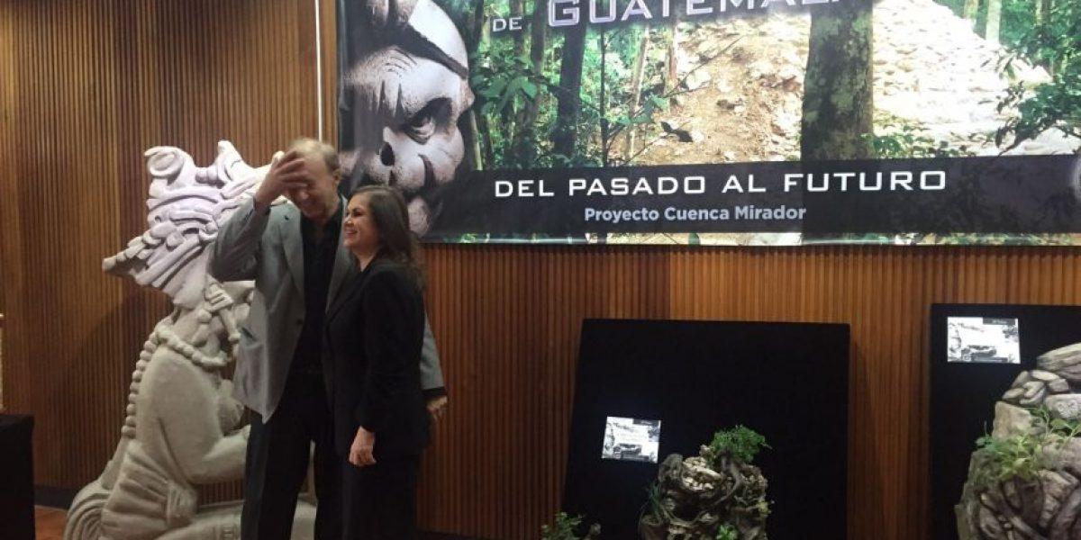 Expondrán piezas mayas de la Cuenca Mirador de Petén