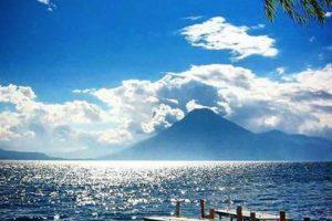 1- El Lago de Atitlán se encuentra en el departamento de Sololá. Foto:instagram.com/yinng_najera