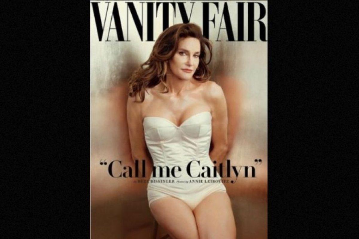 Caitlyn Jenner sorprendió al mundo con esta fotografía Foto:Vanity Fair