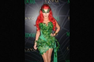 "En 2011, la socialité se vistió como ""Hiedra Venenosa"". Foto:Getty Images"