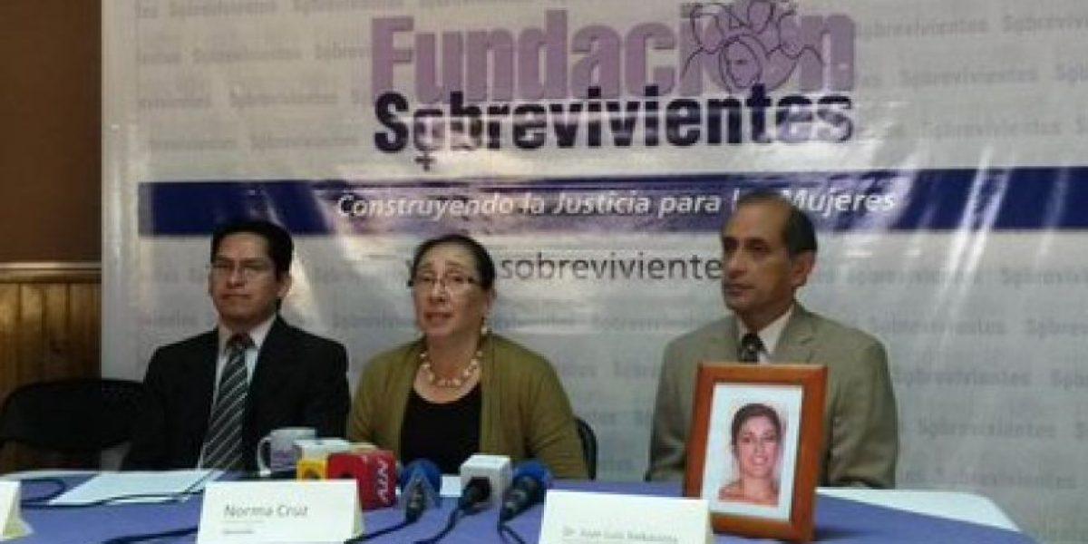 Fundación Sobrevivientes denuncia permiso de viaje a implicado en caso Siekavizza