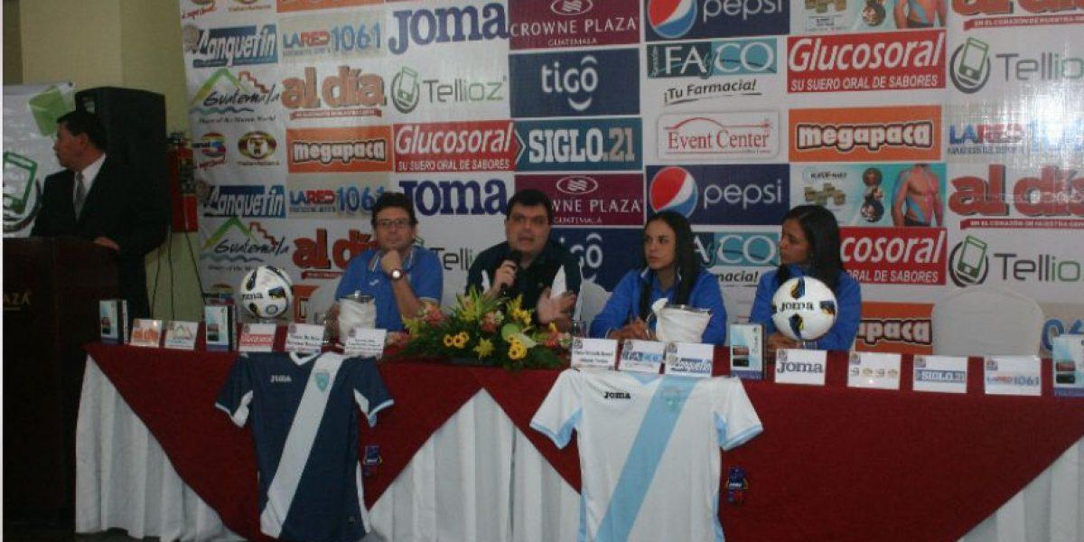 Oficializan Mundial Femenino de Futsal en Guatemala