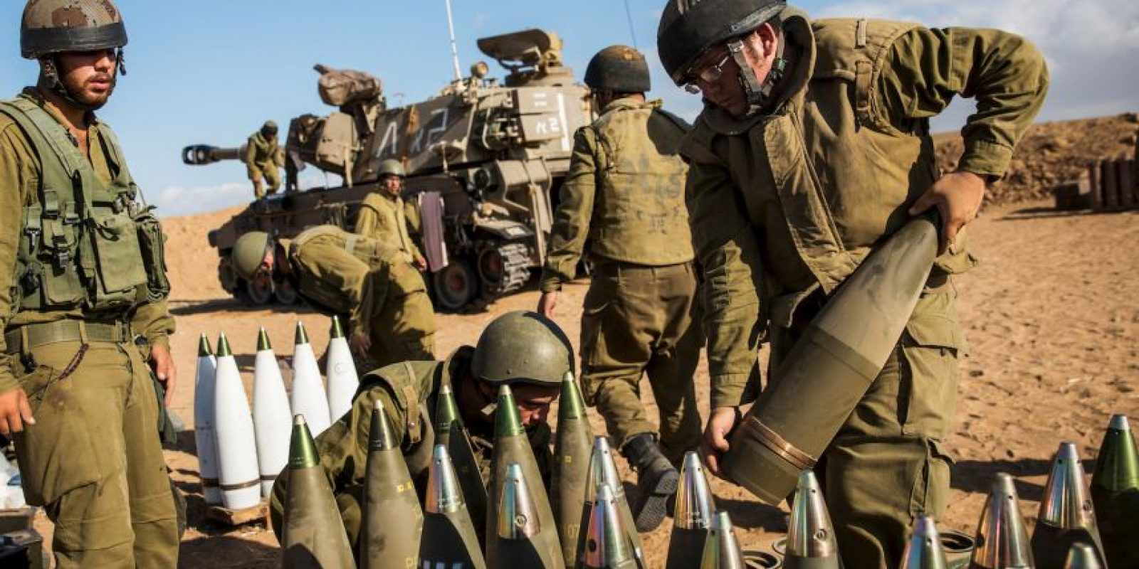 Este año el conflicto entre israelíes y palestinos se ha recrudecido. Foto:Getty Images