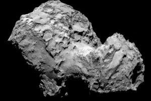 Los científicos descubrieron que el cometa esta constituido por 3.8 por ciento de oxígeno. Foto:Vía sci.esa.int/rosetta