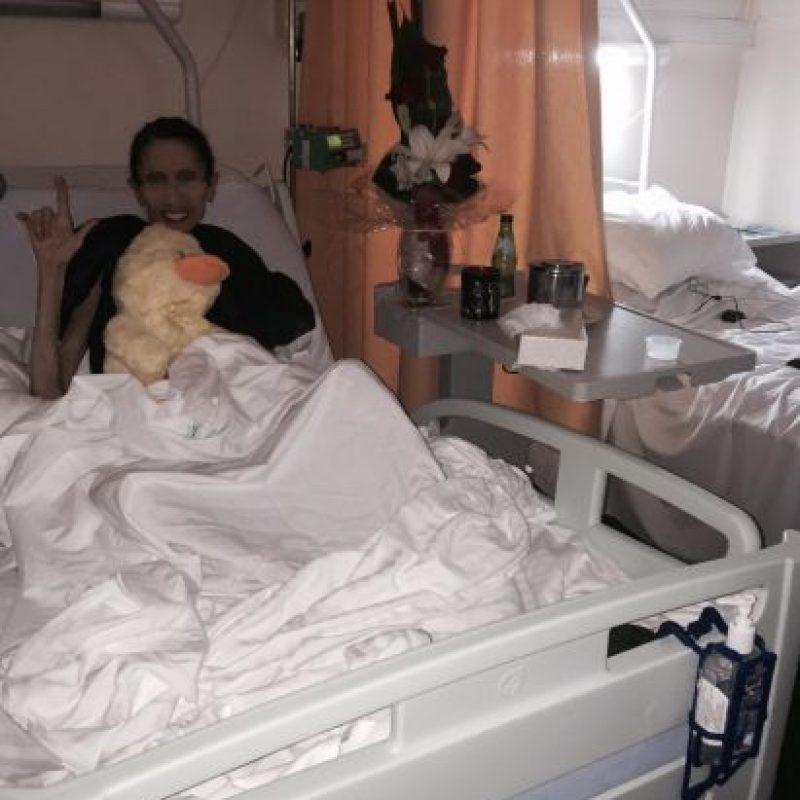 Luego la trataron en Portugal. Foto:vía Facebook/ Rachael´s Road to Recovery